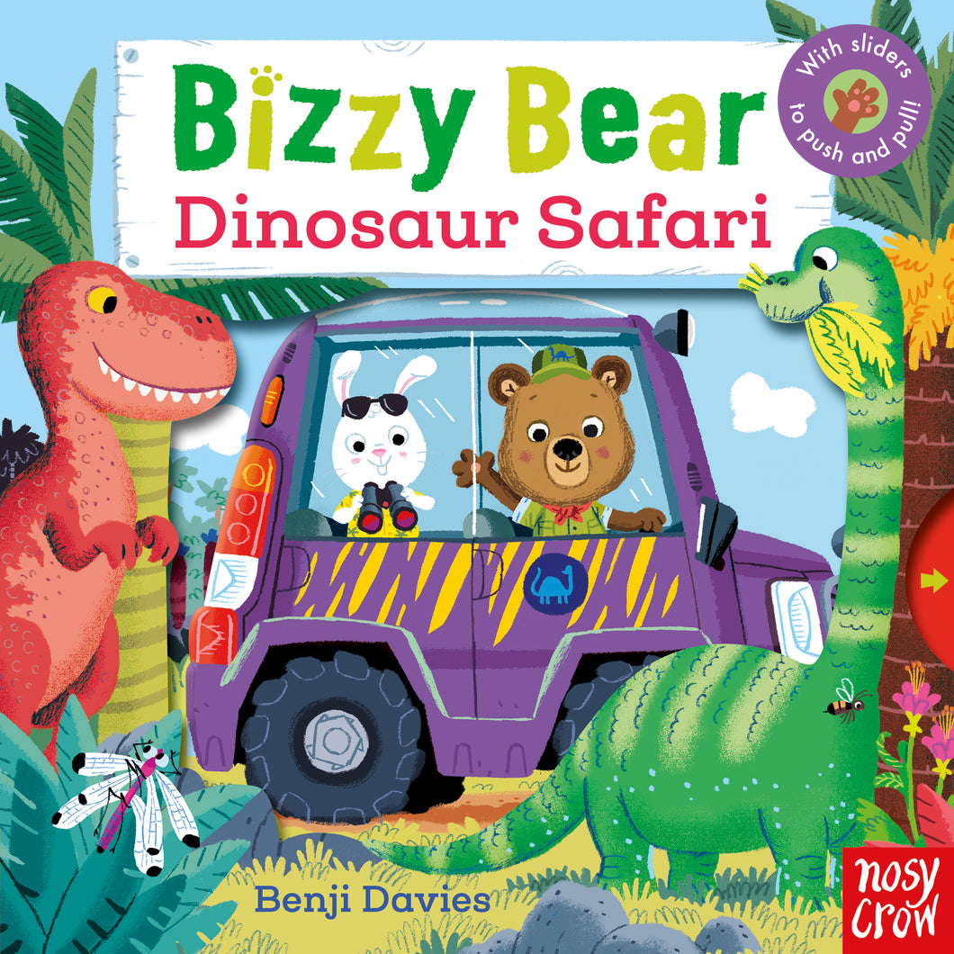 Nosy Crow Bizzy Bear Dinosaur Safari Kitap