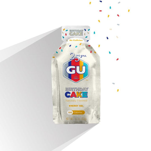 Gu Energy Gel- Birthday Cake