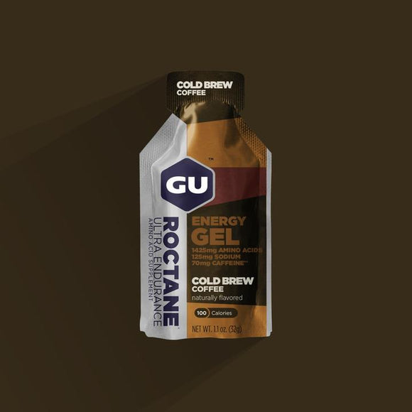 Gu Roctane Energy Gel- Cold Brew Coffee