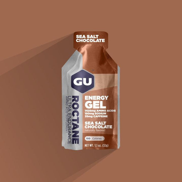 Gu Roctane Energy Gel- Sea Salt Chocolate