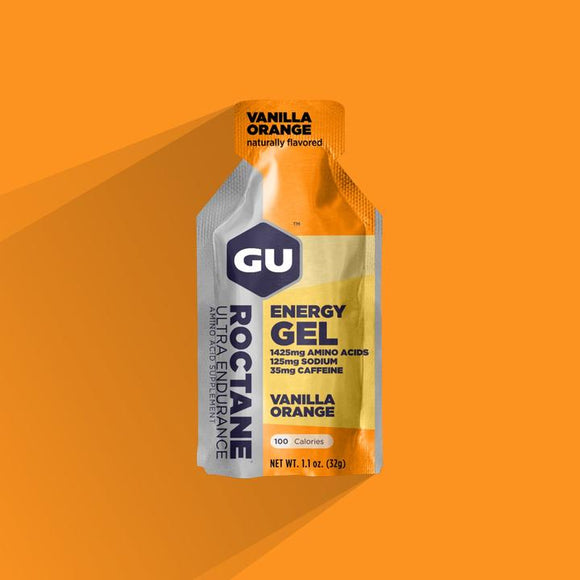 Gu Roctane Energy Gel- Vanilla Orange