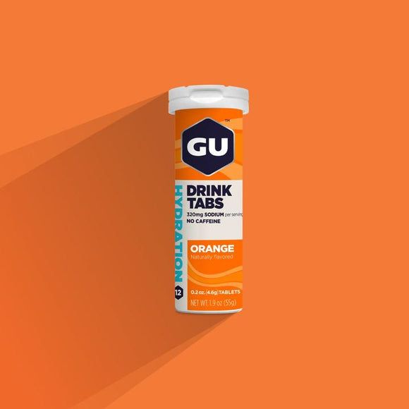Gu Hydration Drink Tabs- Orange