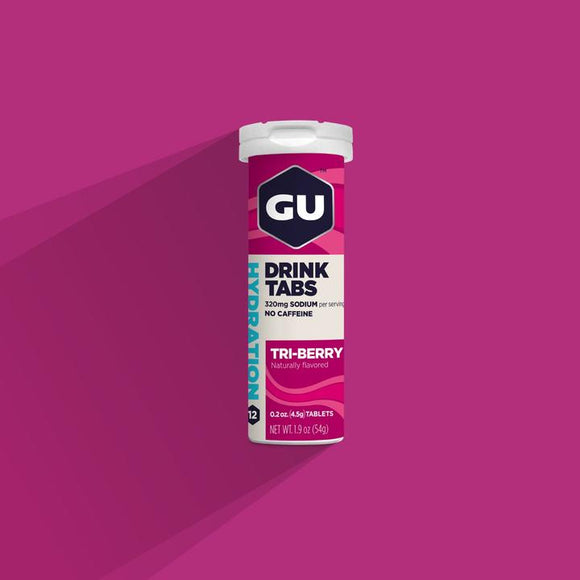 Gu Hydration Drink Tabs- Tri Berry