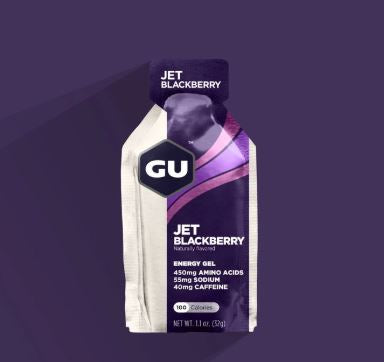 Gu Energy Gel- Jet Blackberry