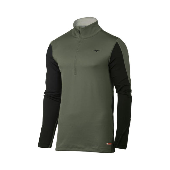 M Mizuno Breath Thermo 1/2 Zip