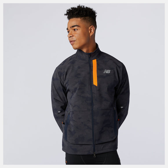 M New Balance Impact Reflective Winter Run Jacket