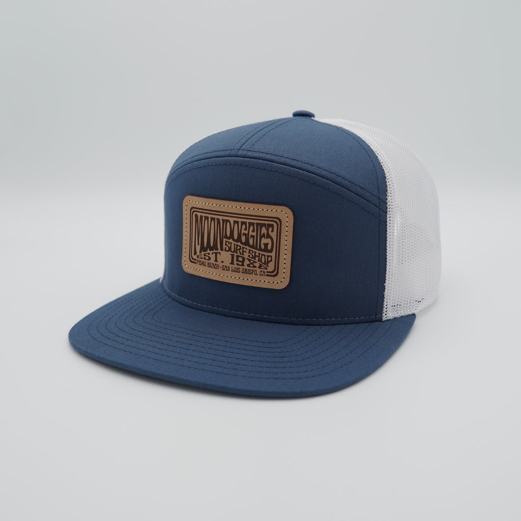 Basic Groove Leather Patch 5 Panel Trucker
