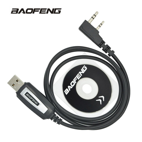 Baofeng USB Programming Cable UV-5R Walkie Talkie Coding Cord K Port Program wire for BF-888S UV-82 UV 5R Accessories