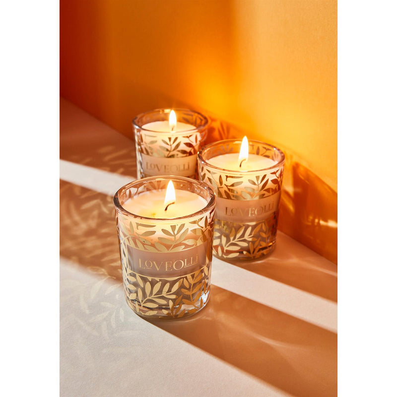 LoveOlli Night Flowers Votive Candle