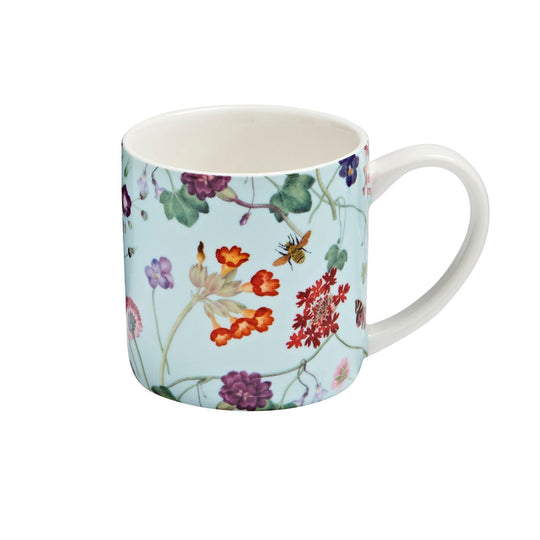 Ulster Weavers Straight Sided New China Mug - RHS Spring Floral