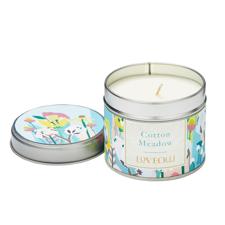 LoveOlli Luxury Scented Wax Candle - Cotton Meadow