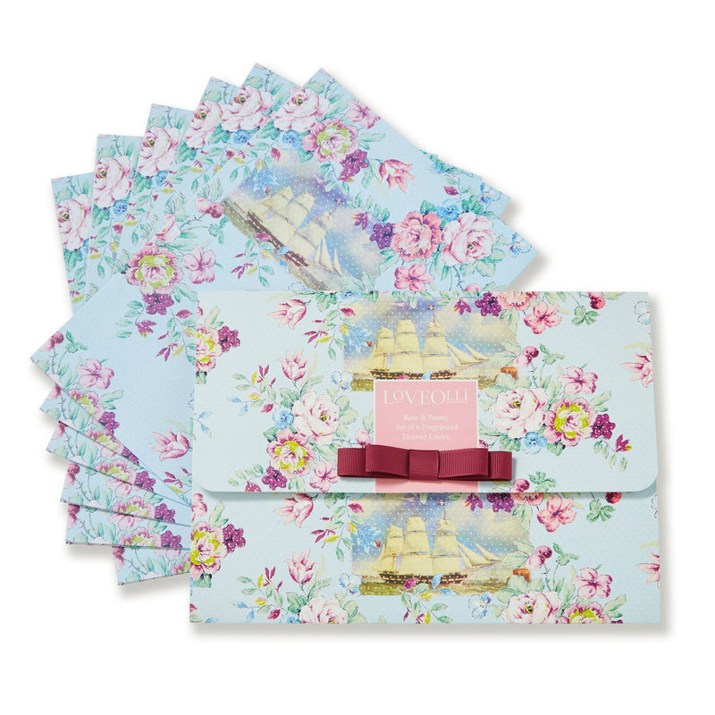 LO Rose & Peony Fragranced Drawer Liner