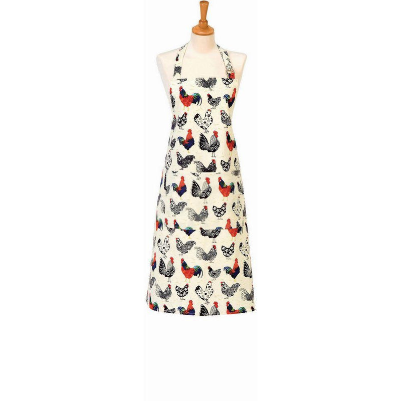 Cotton Drill Apron Rooster