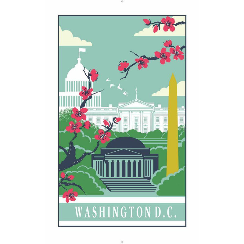 Washington Cotton Tea Towel
