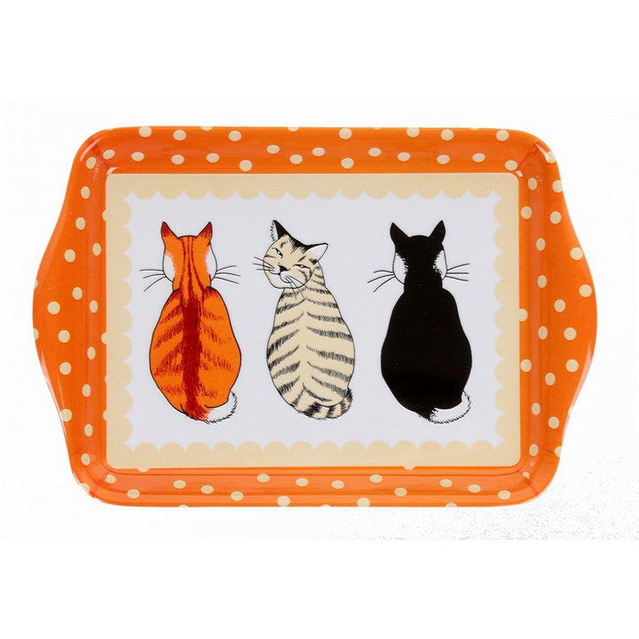 Ulster Weavers Melamine Scatter Tray - Cats in Waiting