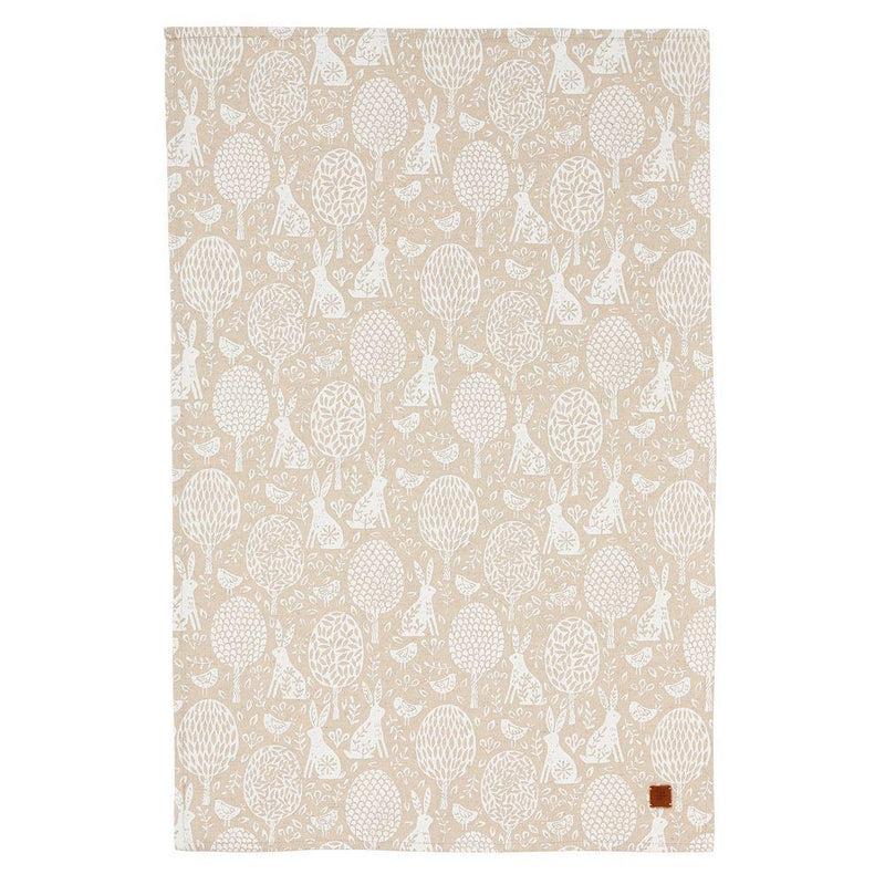 Union Cottontail Meadow Tea Towel