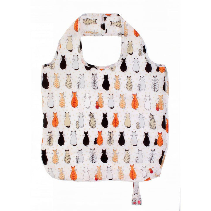 Ulster Weavers Reusable Roll-Up Bag - Cats in Waiting