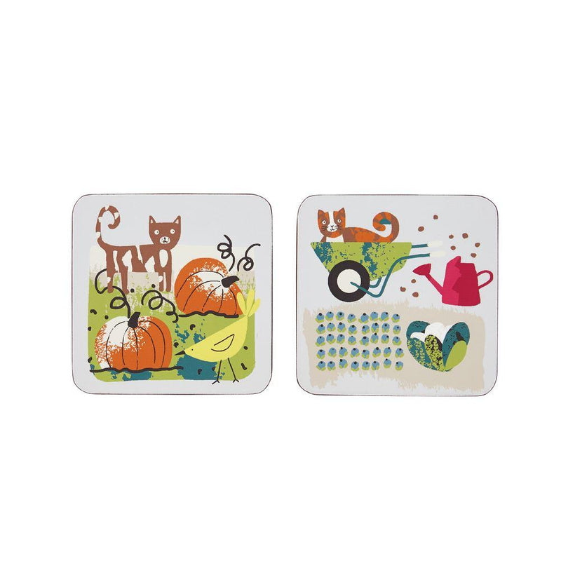 Corked Coaster 4 Pk Home Grown