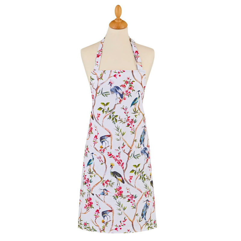 Ulster Weavers 100% Cotton Apron - Oriental Birds