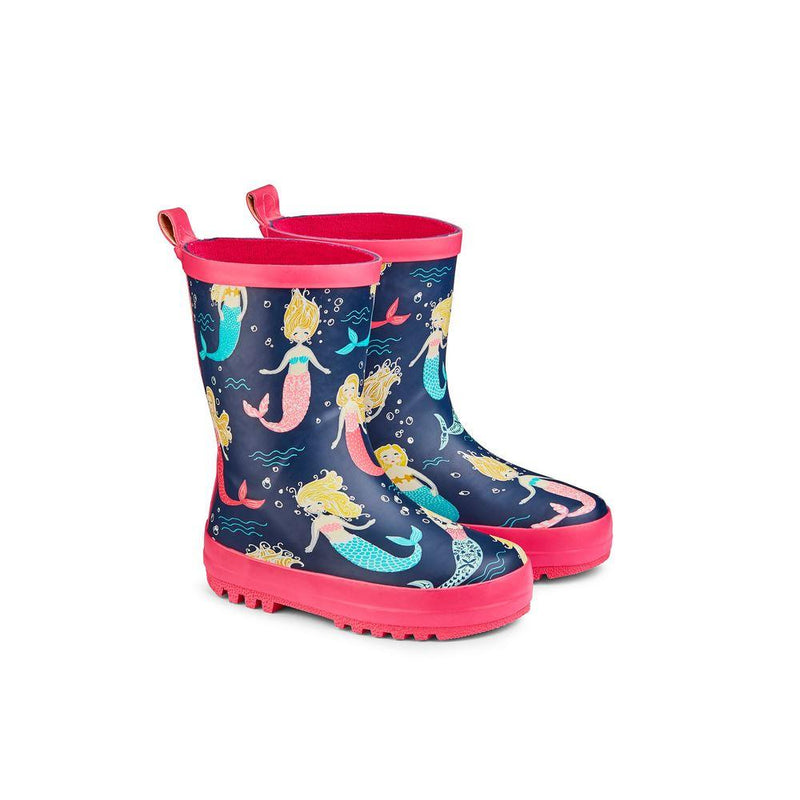 Childs Wellies Mermaids size 10-11