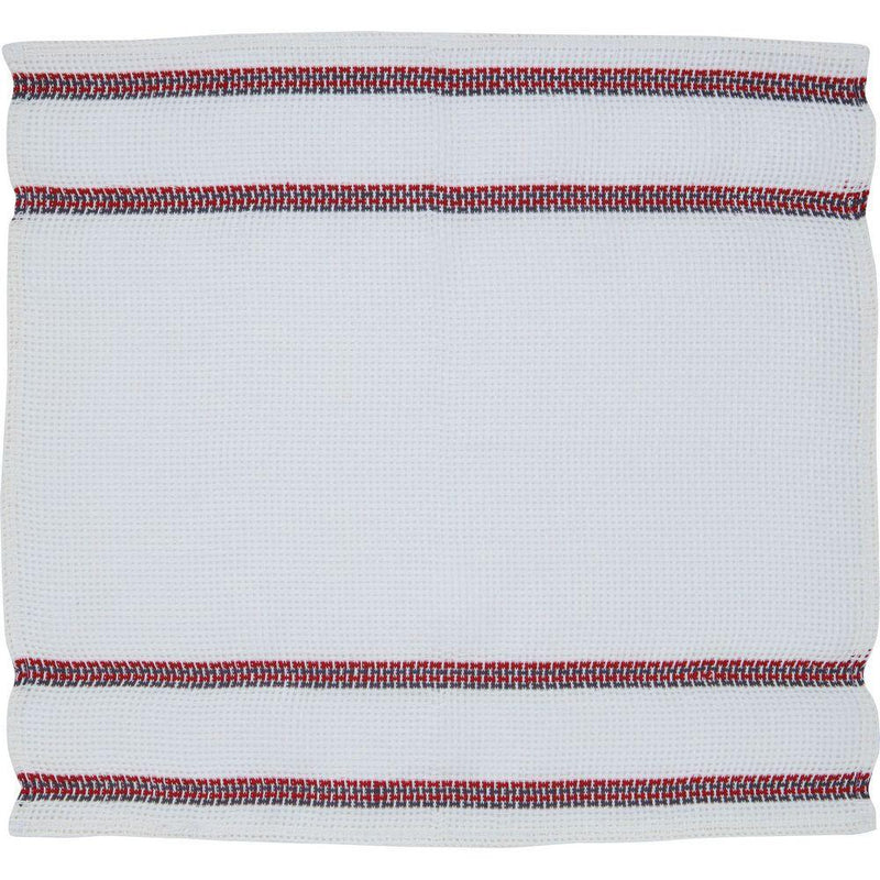 Linen Dish Cloth Moch Leno Red