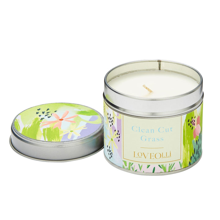 LoveOlli Luxury Scented Wax Candle - Clean Cut Grass