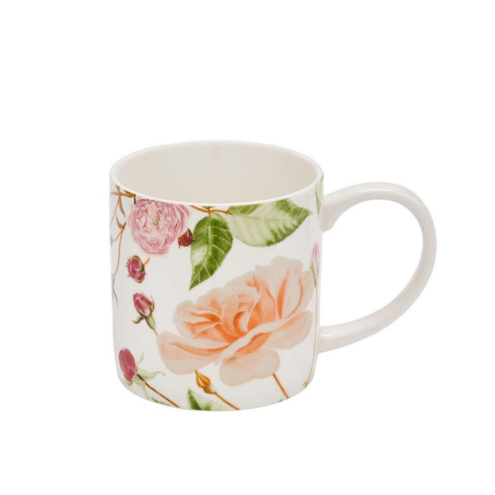 Ulster Weavers New Bone China Mug - RHS Traditional Rose
