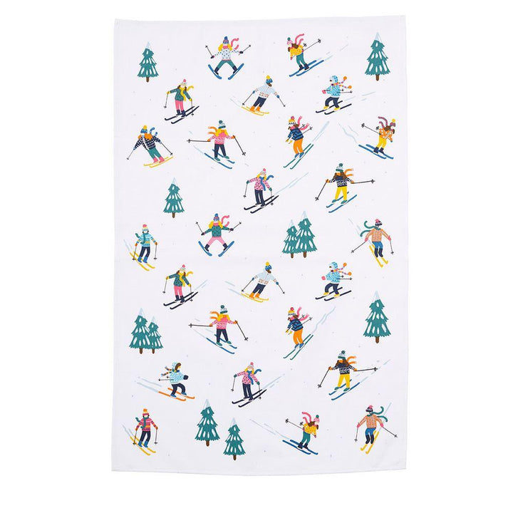 Ulster Weavers Luxury 100% Cotton Tea Towel - Ski Slopes