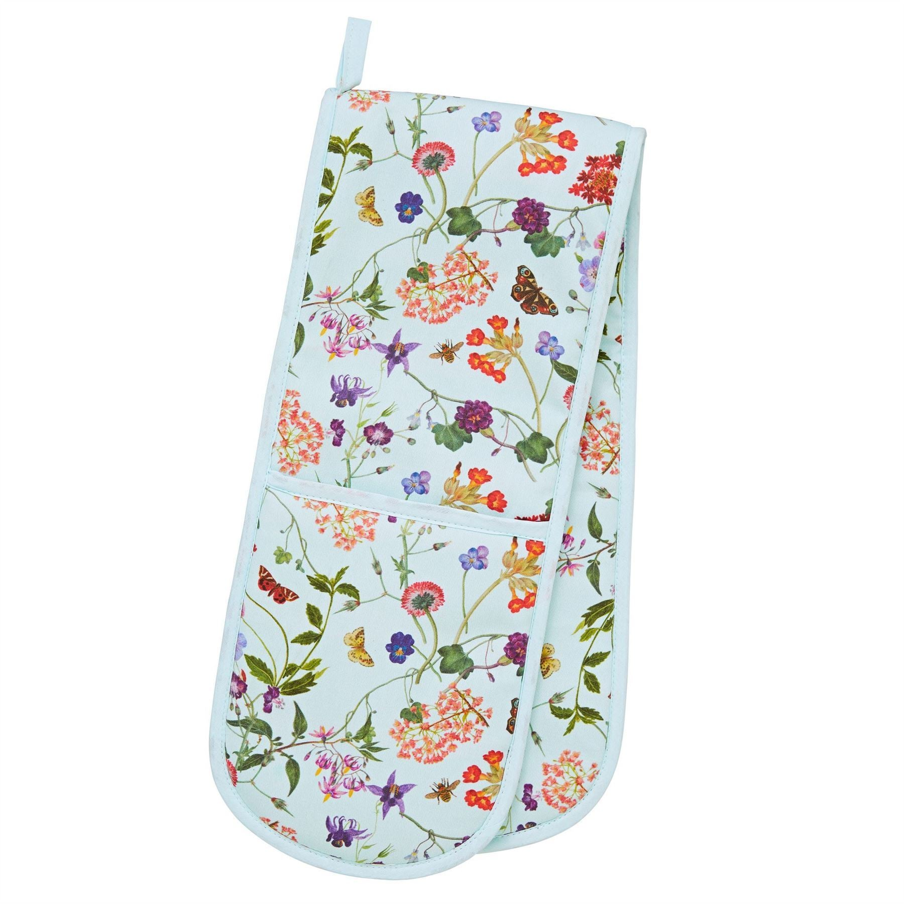 Ulster Weavers Double Oven Gloves - RHS Spring Floral