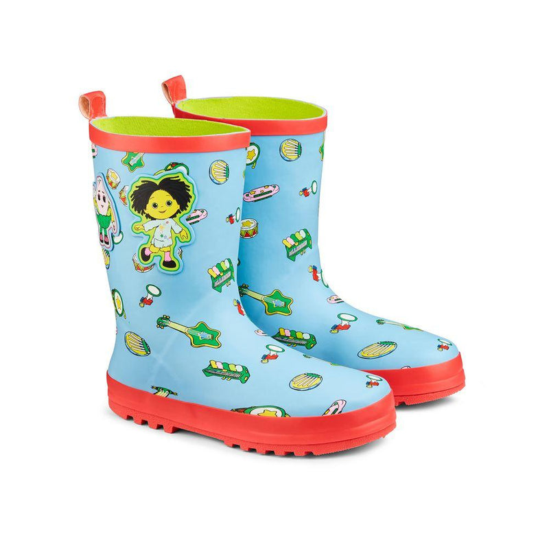 Childs Wellies Moon & Me Music size 8-9