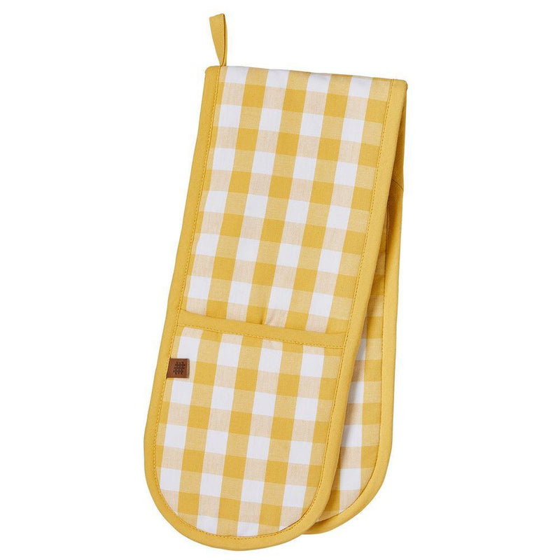 Double Glove Gingham Yellow