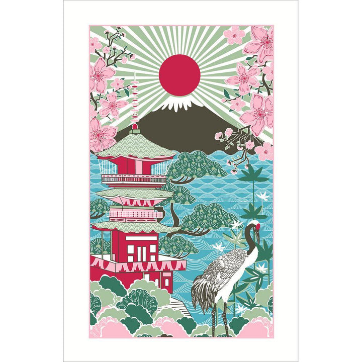 Ulster Weavers Luxury 100% Cotton Tea Towel - Rising Sun Japan