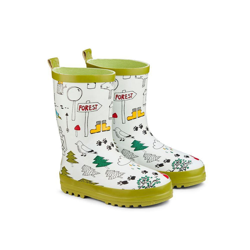 Childs Wellies Lets Explore size 6-7