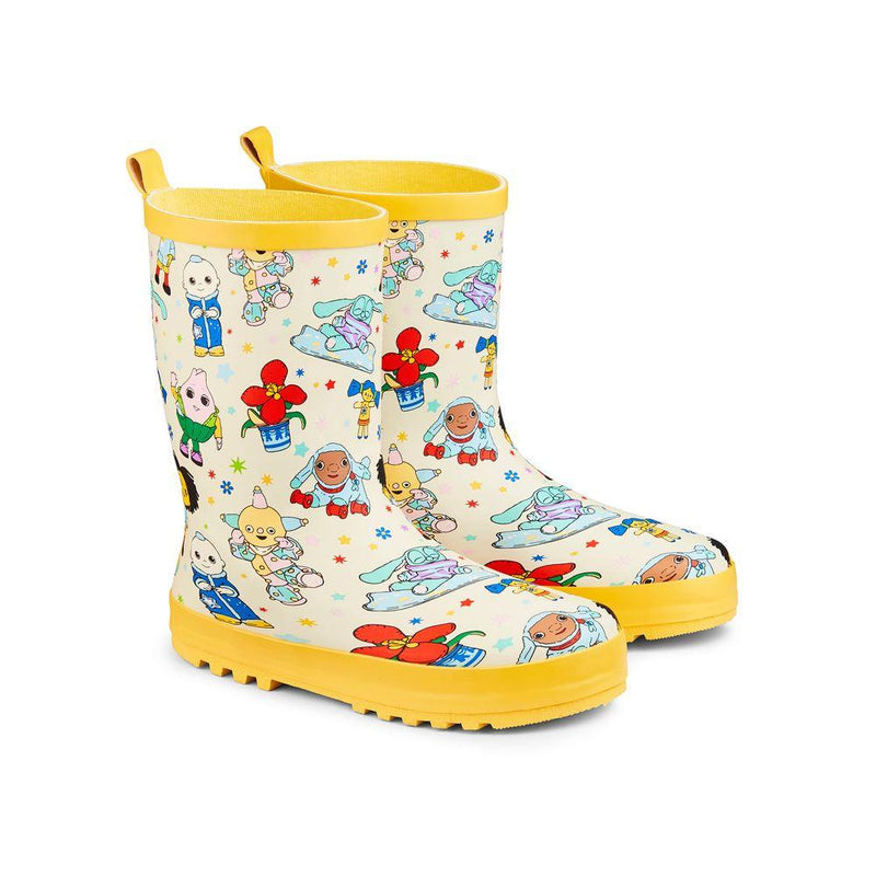 Childs Wellies Moon & Me Character 10-11