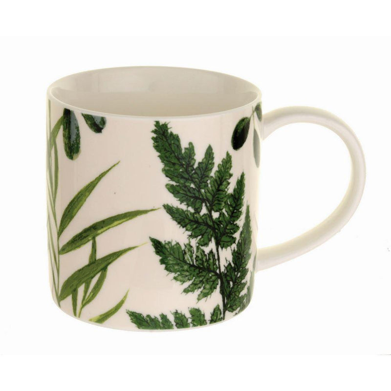 Straight Sided Mug RHS Foliage