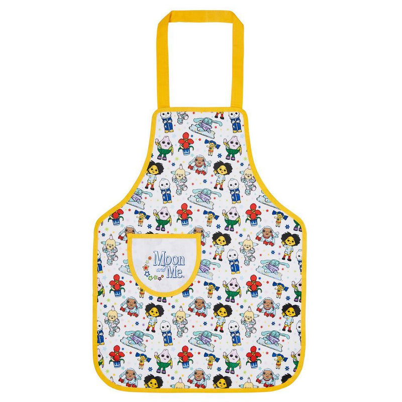 Childs PVC Apron Moon & Me Character