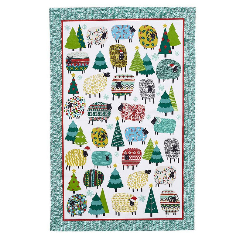Cotton TT Christmas Dotty Sheep