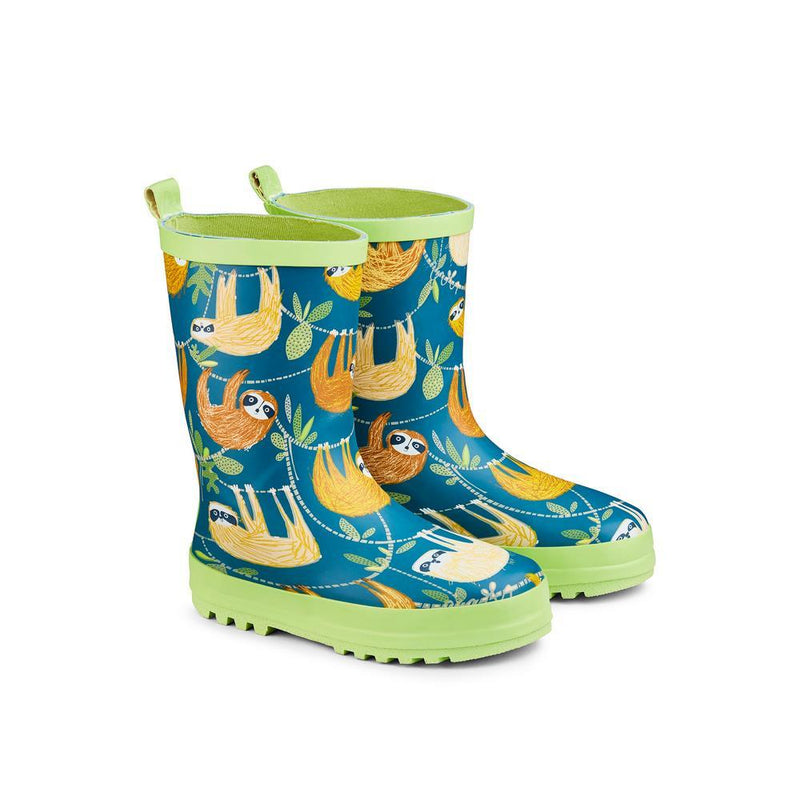 Childs Wellie Hanging Around size 8-9