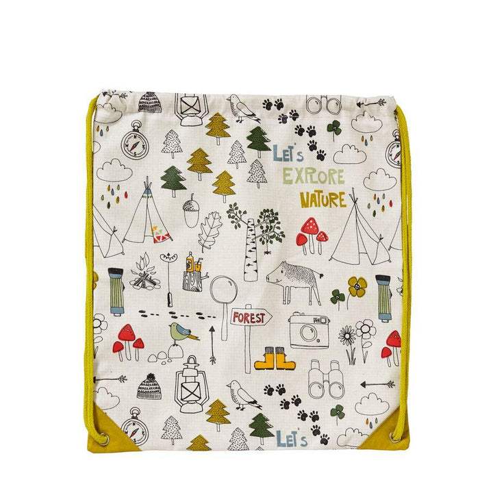 Ulster Weavers Kids Collection Gym Bag - Lets Explore Nature