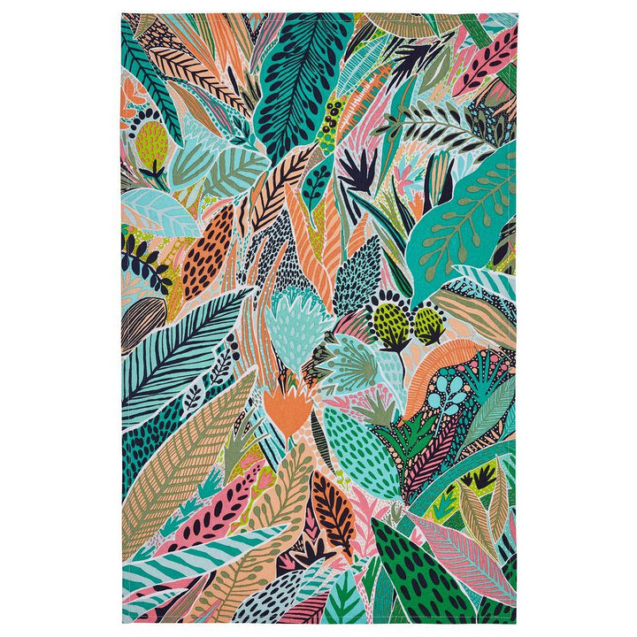 Ulster Weavers Luxury 100% Cotton Tea Towel - Tropical Leaf