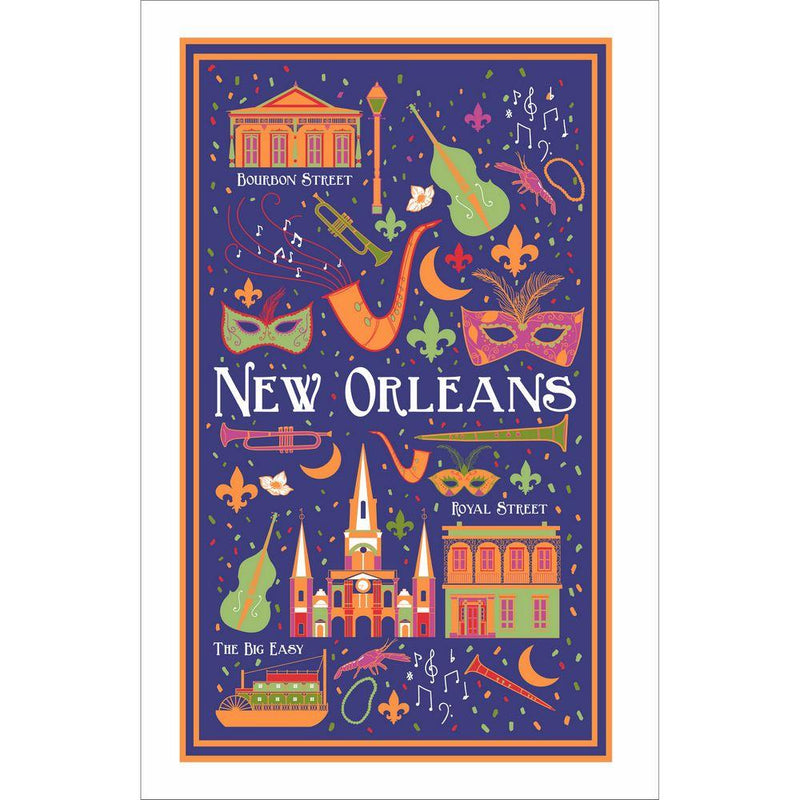 New Orleans Cotton Tea Towel