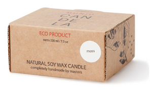 MUNIO CANDELA Soy Wax Candle:Moss 220ml