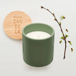 MUNIO CANDELA : Soy Wax Candle : Apple blossom