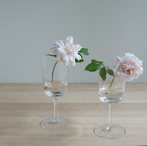 Henry Dean Flower Vase G.Yoshi young ww : CLEAR