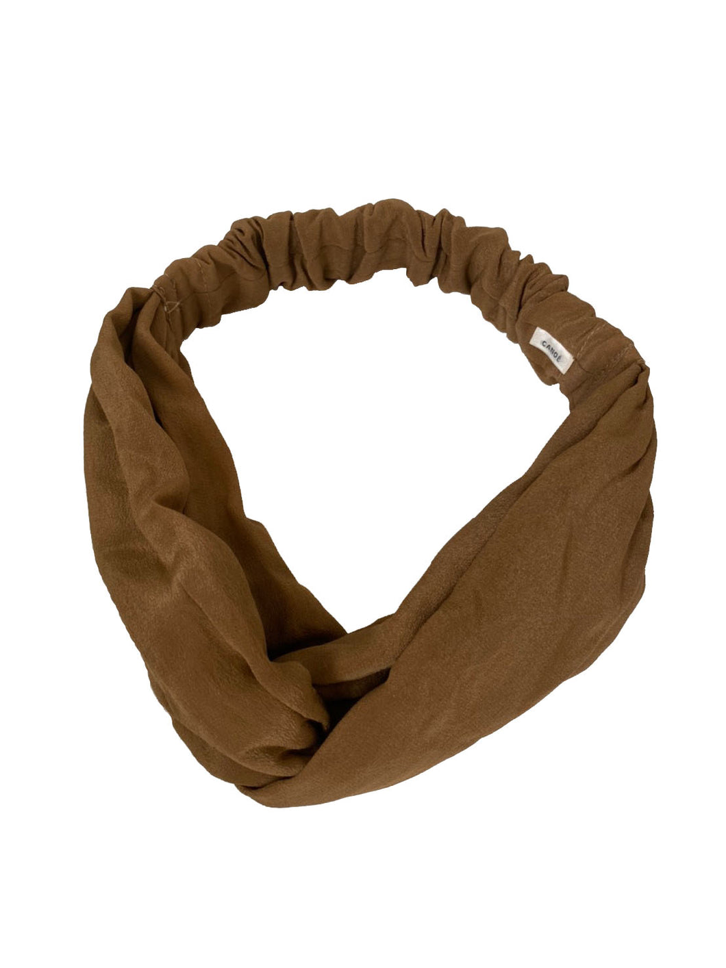 CANOÉ collaborating with shuco HAIR BAND MAT MOCHA #HB0010f