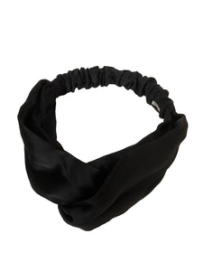 CANOÉ collaborating with shuco HAIR BAND SHINY BLACK #HB0020f