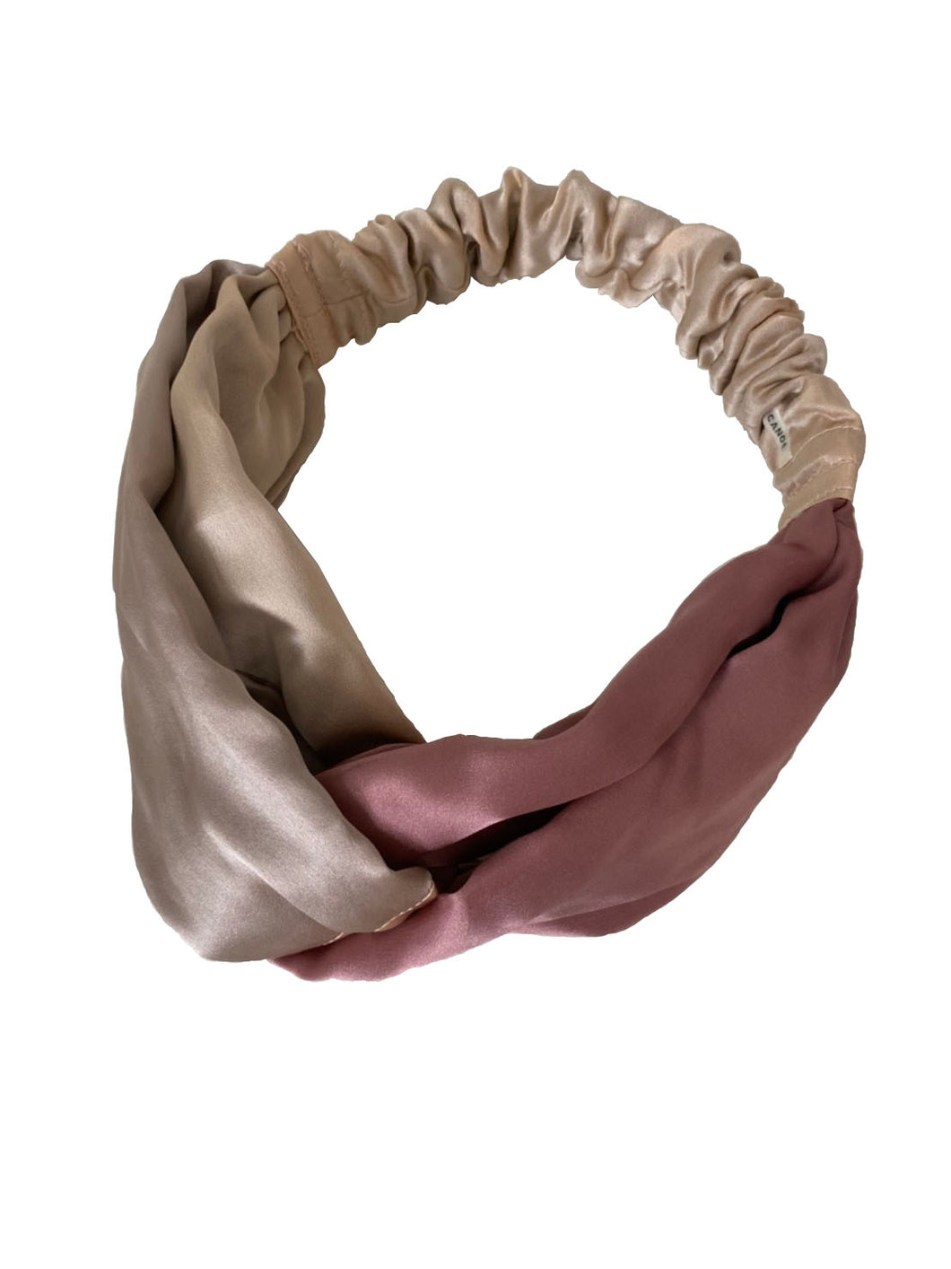 CANOÉ collaborating with shuco HAIR BAND MIX   PINK BEIGE #HB0050e