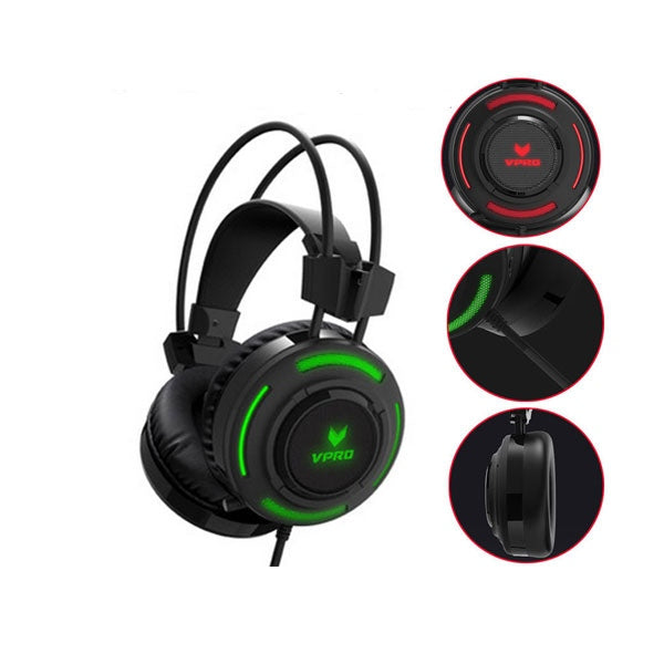 RAPOO VH200 Illuminated RGB Glow Gaming Headset