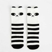 Load image into Gallery viewer, 1 Pair Unisex Lovely Cute Cartoon Fox Kids baby Socks Knee Girl Boy Baby Toddler Socks animal infant Soft Cotton socks 0-3 Y | broadway rd