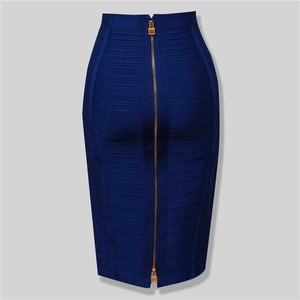 Zipper Bandage Skirt | broadway rd